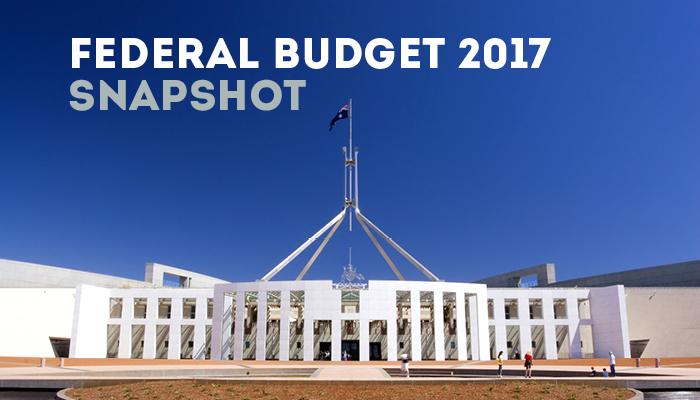 Federal Budget 2017 Snapshot